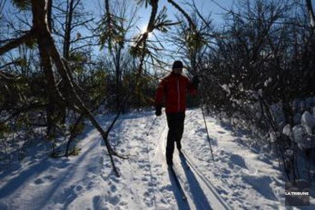 La saison deskide fond et de raquette prend son envol au parc national du... (Archives La Tribune)