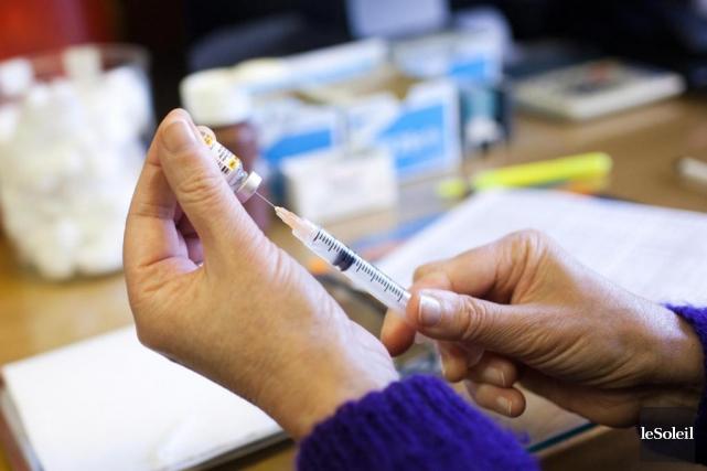 La majorité des enfants du Québec sont vaccinés... (Photothèque Le Soleil)