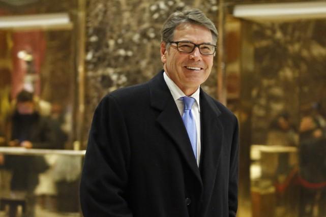 Rick Perry, 66 ans, qui a gouverné un... (photo archives Associated Press)
