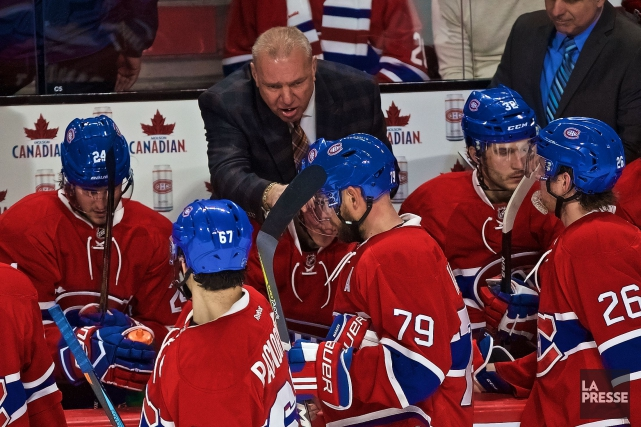 Le Canadien n'a généré que sept tirs au... (Photo André Pichette, La Presse)