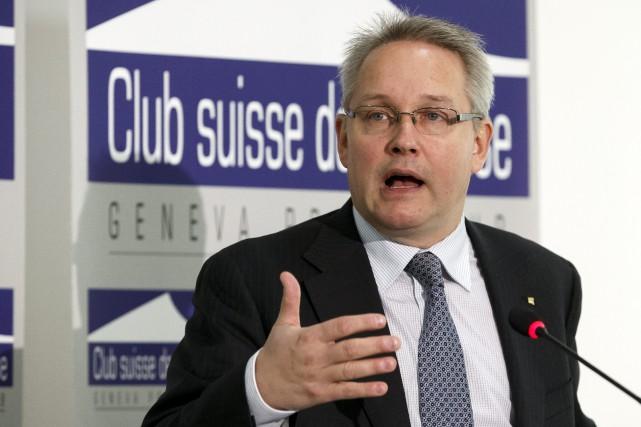 Le secrétaire général du Tribunal arbitral du sport,Matthieu... (Photo Salvatore Di Nolfi, AP)