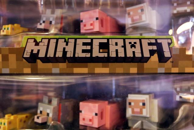 Minecraftest un «jeu sérieux» une «sorte de Lego... (La Presse Bloomberg)