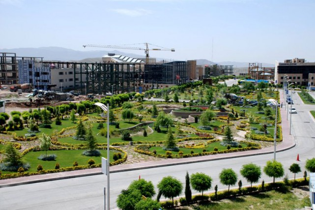 Le parc technologique de Pardis, la «Silicon Valley iranienne» où sont... (Photo Rmzadeh, via Wikipédia)
