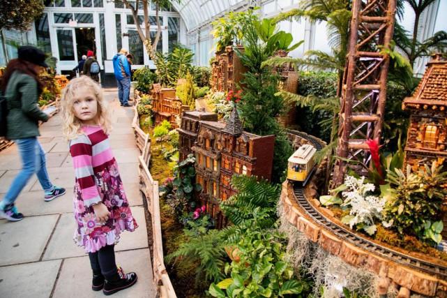 Situé dans le Bronx, le Jardin botanique de... (Photo Alain Roberge, La Presse)
