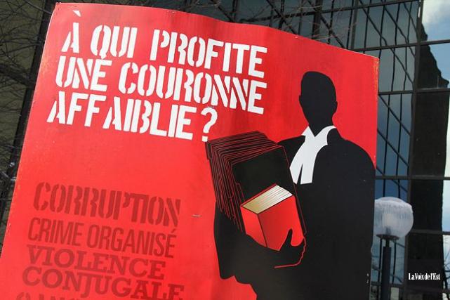 Le Prince Albert II de Monaco a eu droit à un comité d'accueil plutôt... (La Voix de l'Est, Alain Dion)