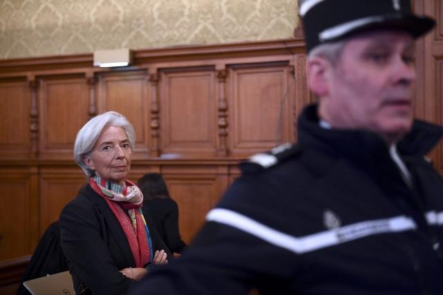 Le 7 juillet 2008, Christine Lagarde est ministre... (AFP)