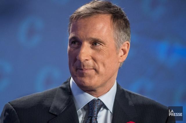 Le candidat à la course à la direction... (Photo Archives La Presse canadienne)