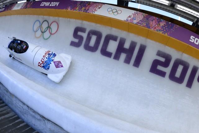 La Fédération internationale de bobsleigh et skeleton a décidé de retirer à... (Photo Lionel Bonaventure, archives AFP)