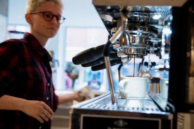 Dispatch Coffee vient tout juste d'ouvrir sa troisième... (PHOTO ALAIN ROBERGE, LA PRESSE)