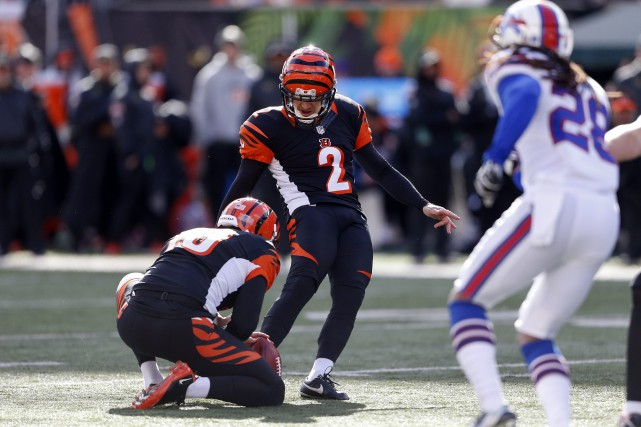 Mike Nugent... (PHOTO Gary Landers, AP)