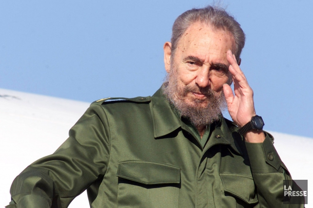 Fidel Castro... (Archives La Presse)