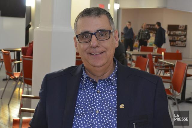 Le maire de Normandin, Mario Fortin.... (Archives Le Quotidien, Louis Potvin)