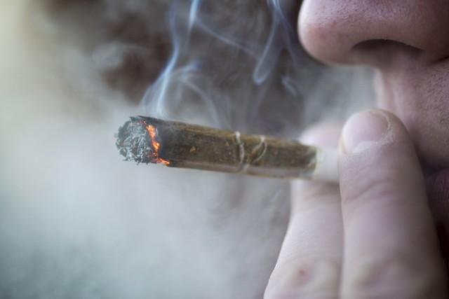 Pour l'heure, le marché québécois du cannabis récréatif,... (123RF, Peter Ksinan)