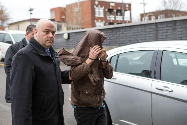 Richard Auger avait été arrêté le 19 novembre... (Olivier Croteau)