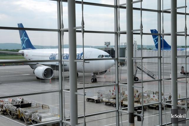 Incapable d'utiliser à Québec pendant 80jours ses Airbus... (Photothèque Le Soleil, Erick Labbé)