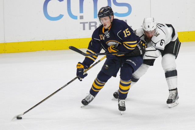 Jack Eichel... (PHOTO Jeffrey T. Barnes, AP)