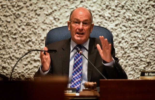 Le maire de Trois-Rivières, Yves Lévesque....