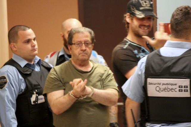 Guy Harvey était de retour devant les tribunaux.... (Audrey Tremblay)