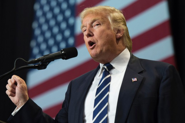 Donald Trump... (Don Emmert, AFP)