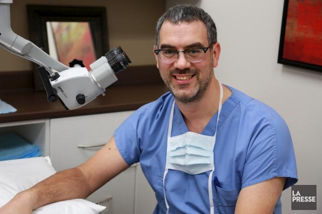 LeDrYanick Larivée, ORL et chirurgien cervico-facial à Granby,... (Catherine Trudeau)