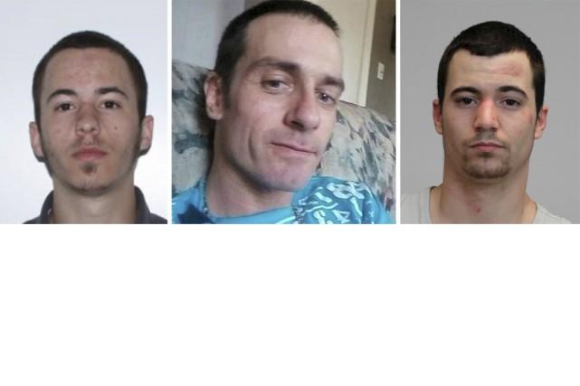 Maxime Lafontaine, à gauche, a été arrêté par...