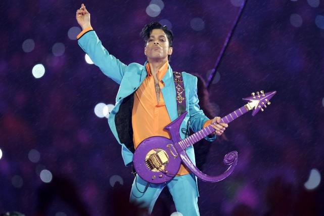 Prince en 2007... (AP, Chris O'Meara)