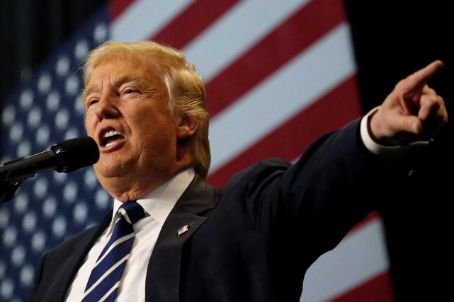 L'arrivée le 20 janvier de Donald Trump à... (PHOTO REUTERS)