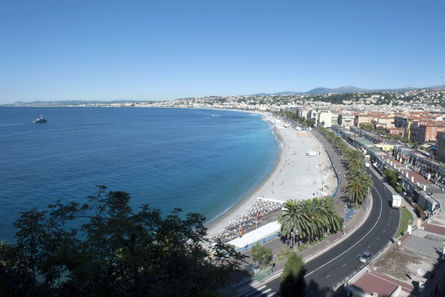 La Promenade des Anglais à Nice.... (Photo Christian Alminana, archives AP)