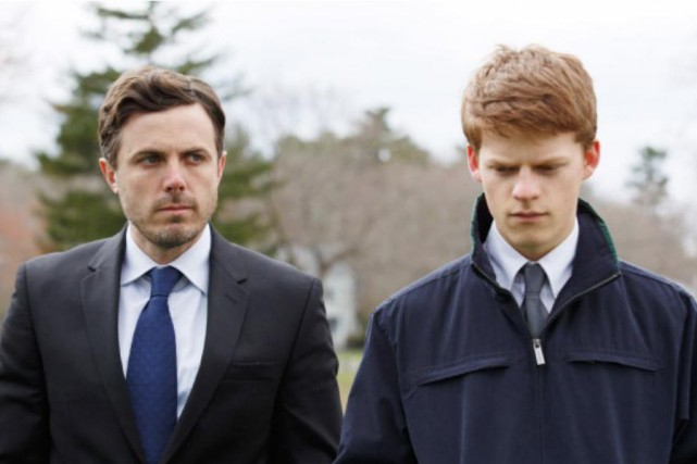 Casey Affleck et Lucas Hedges dans Manchester by... (Photo Claire Folger, fournie par Amazon Studios et Roadside Attractions)
