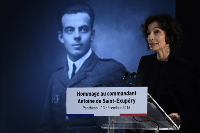 Audrey Azoulay, ministre de la Culture, a rendu... (PHOTO AFP)