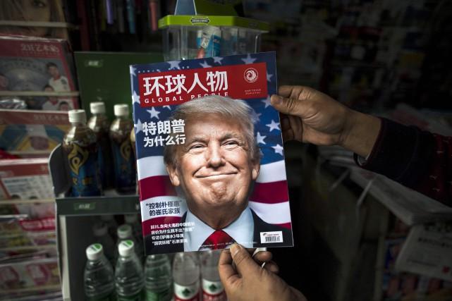À la mi-décembre, Donald Trump avait déjà menacé... (photo : AFP)