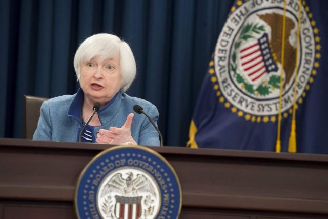 La présidente de la Réserve fédérale américaine, Janet... (Photo Saul Loeb, AFP)