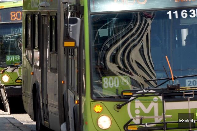 Les quelque 950 chauffeurs du Réseau de transport de la capitale (RTC) se... (Photo Erick Labbé, archives Le Soleil)