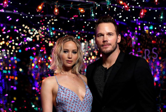 Jennifer Lawrence et Chris Pratt... (Photo Mario Anzuoni, Reuters)