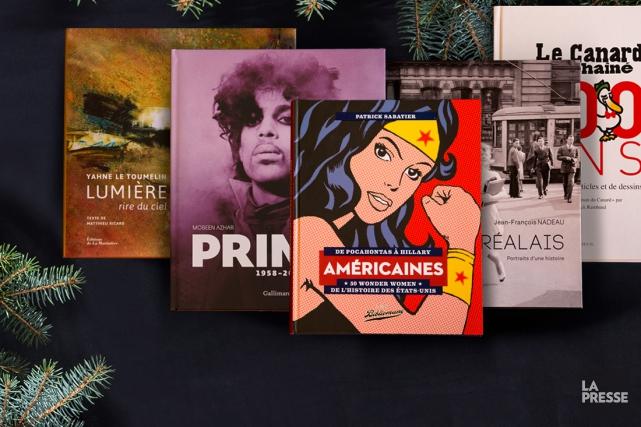 Avec Noël, vient le temps des beaux livres. En voici huit qui contribuent à... (PHOTO FRANÇOIS ROY, LA PRESSE)