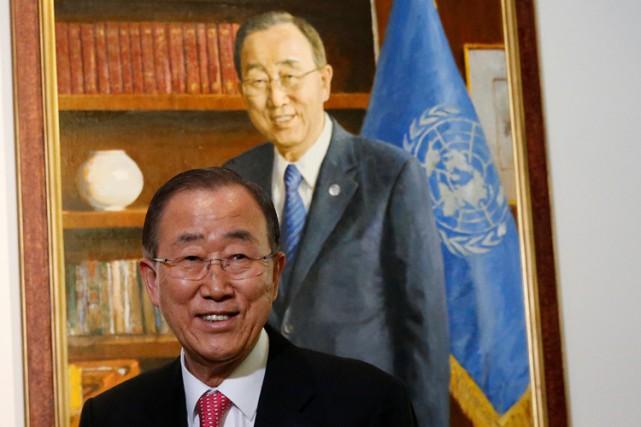 Comme pour les sept précédents patrons de l'ONU,... (PHOTO REUTERS)