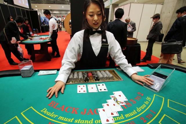 Pour les exploitants de casinos à l'étranger, le... (PHOTO AFP)