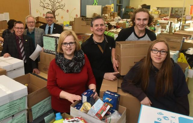 Photo: Francois Gervais14/12/16. Shawinigan, Ecole Val-Mauricie. 19e campagne... (François Gervais, Le Nouvelliste)