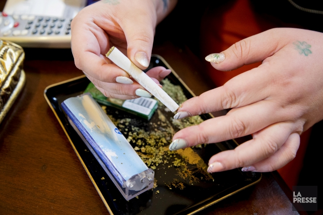 ÉDITORIAL / Justin Trudeau avait promis de légaliser la marijuana récréative au... (Archives, La Presse)