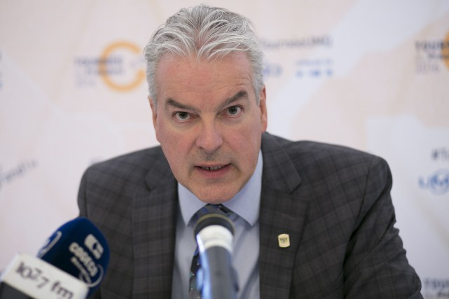 Le président de l'UMQ et maire de Sherbrooke... (Spectre Média, René Marquis)