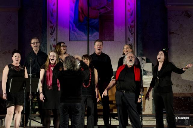 Le sixième et dernier concert-bénéfice Grand Noël Choral,... (Sylvain Mayer, Le Nouvelliste)