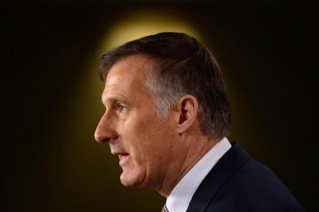Maxime Bernier est parmi les 14 candidats qui... (PhotoSean Kilpatrick, La Presse Canadienne)