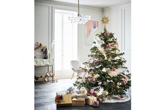Le sapin glamour... (Photo fournie par West Elm)