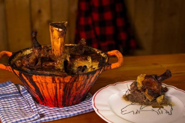 Voici la recette du cipaille du restaurantAu Pied deCochon. (PHOTO OLIVIER PONTBRIAND LA PRESSE)
