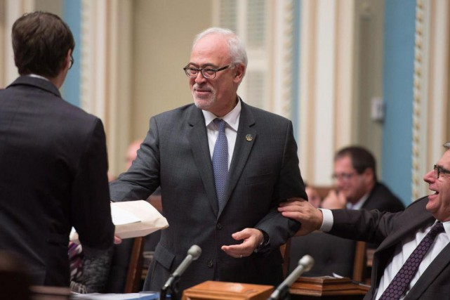 Carlos Leitao, président du Conseil du trésor du... (Photo Jacques Boissinot, Archives La Presse Canadienne)