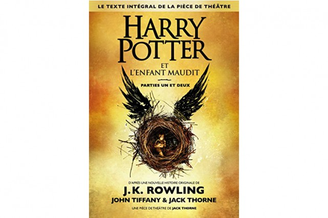 Harry Potter et l'enfant maudit, J.K. Rowling, John... (Photo fournie par l'éditeur)