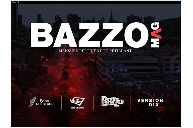 Le magazinevirtuel BazzoMag cesse ses activités, après une quinzaine... (CAPTURE D'ÉCRAN)