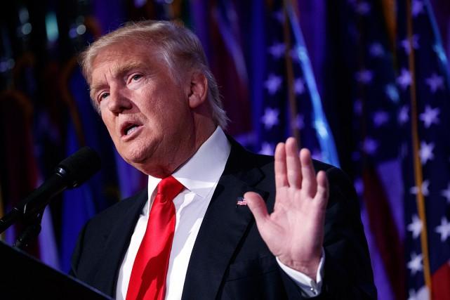 Le futur président américain, Donald Trump.... (Evan Vucci, archives AP)