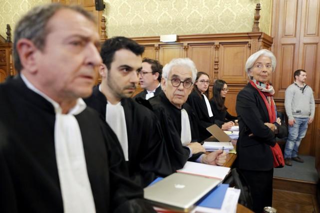 La patronne du FMI Christine Lagarde est photographiée... (photo Philippe Wojazer, archives REUTERS)