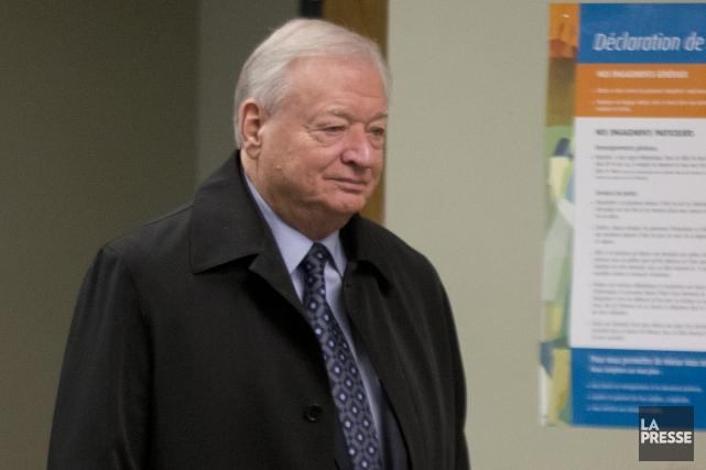 L'ex-maire de Laval Gilles Vaillancourt.... (David Boily, archives La Presse)